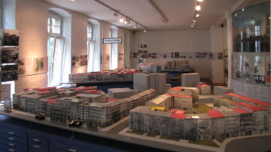 FHXB-Museum: Modell Adalbertstraße
