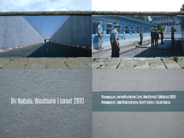 Westbank, Israel / Nordkorea-Südkorea
