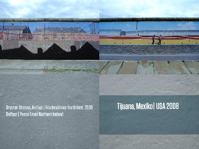 Belfast, Nordirland / Tijuana, Mexiko - USA