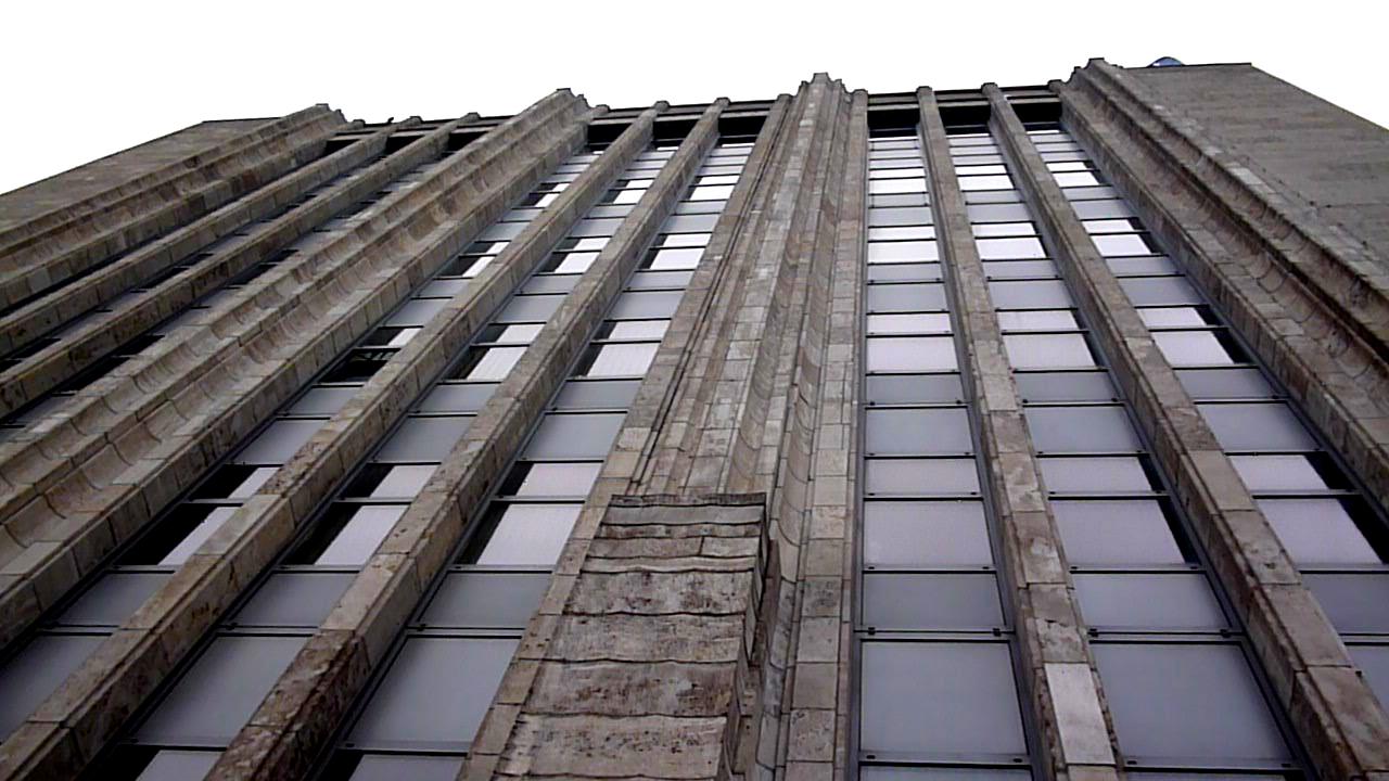Erhaltene Fassade des Ursprungbaus